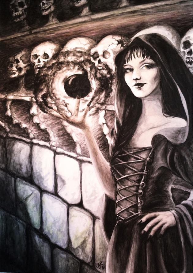 Illustration 4 till boken Och mörkret föll