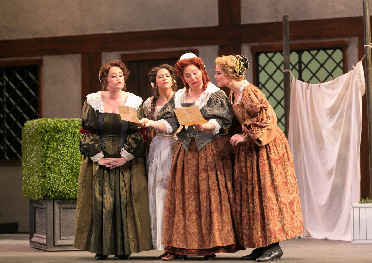 as Alice Ford in Falstaff with Opera Colorado