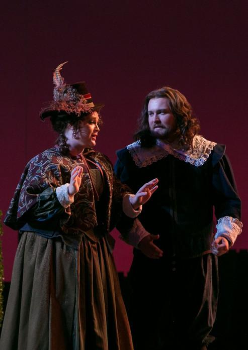as Alice Ford in Falstaff with Opera Colorado