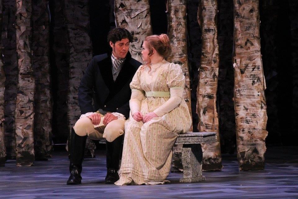Tatyana in Eugene Onegin with OU Opera Theater