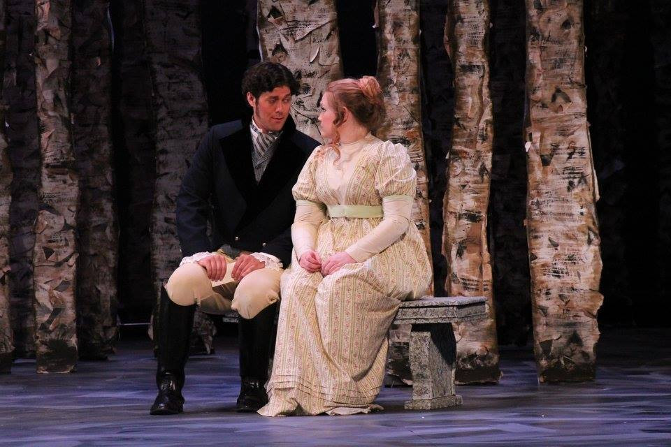 Tatyana in Eugene Onegin with OU Opera Theater