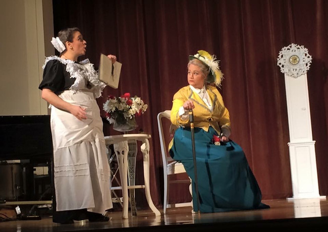 Lady Billows in Albert Herring with Opera Breve