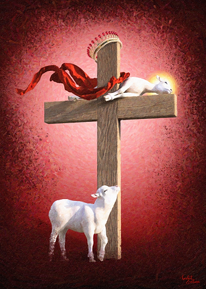 Behold the Lamb (Print)