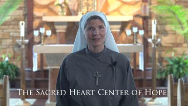 The Sacred Heart Center of Hope's Mini-Retreat Advertisement