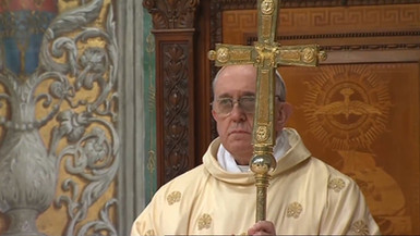 Opening Letter to Pope Francis for Mary
