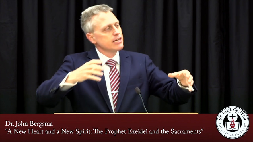 Live-Streaming of Dr. John Bersgma's Talk on Ezekiel