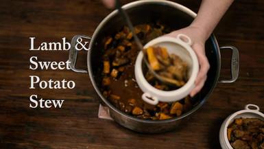 Lamb and Sweet Potato Stew