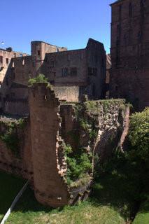 Germany | Hiedelberg Castle Ruins