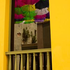 Puerto Rico | Reflected Sombrillas
