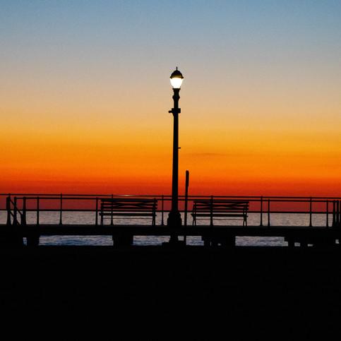 Dawn Streetlamp