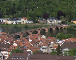 Germany | Old Bridge Hiedelberg 01