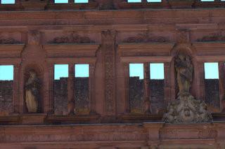 Germany | Hiedelberg Castle Courtyard  01