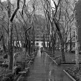 Bryant park March 2020