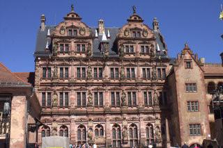 Germany | Hiedelberg Castle Courtyard 02