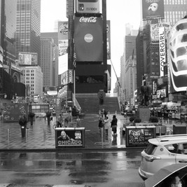 Times Square March 2020