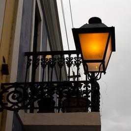 Puerto Rico | Old San Juan Street Lamp
