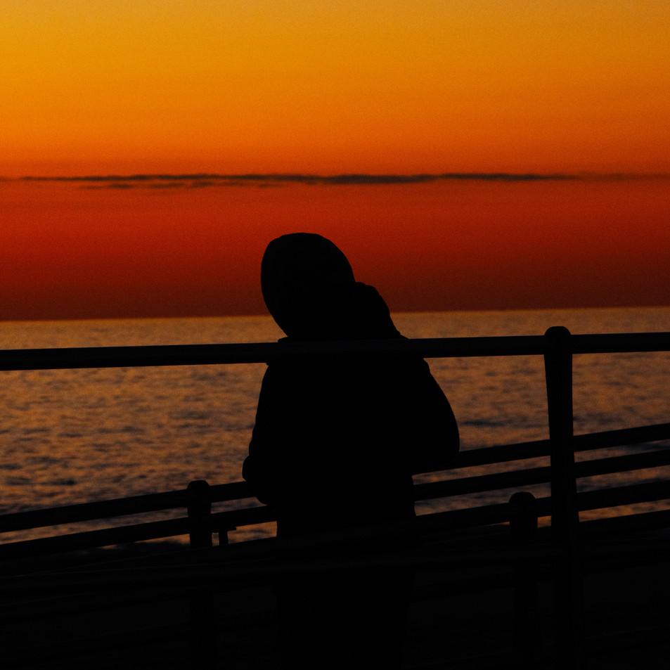watching dawn