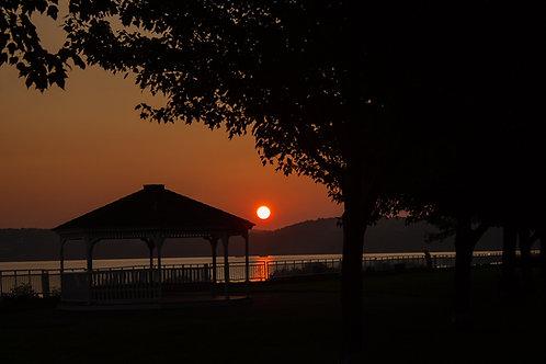 Sunrise and Gazebo
