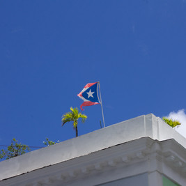 Puerto Rico | Torn Flag