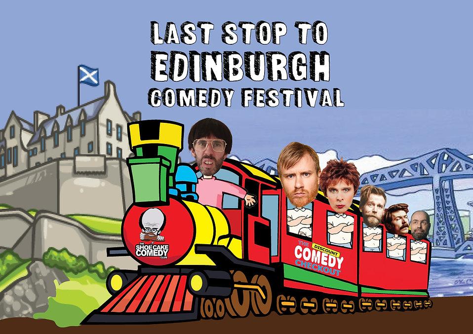 Last Stop To Edinburgh Comedy Festival F