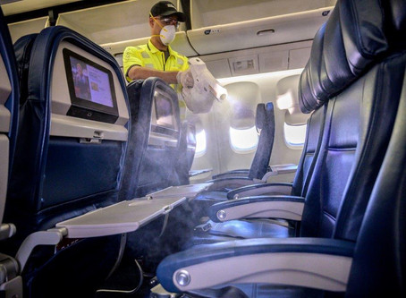 Delivering on new clean standard, Delta now sanitizing every flight