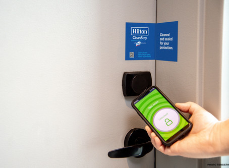 Hilton Defining a New Standard of Hotel Cleanliness, Working with RB/Lysol and Mayo Clinic