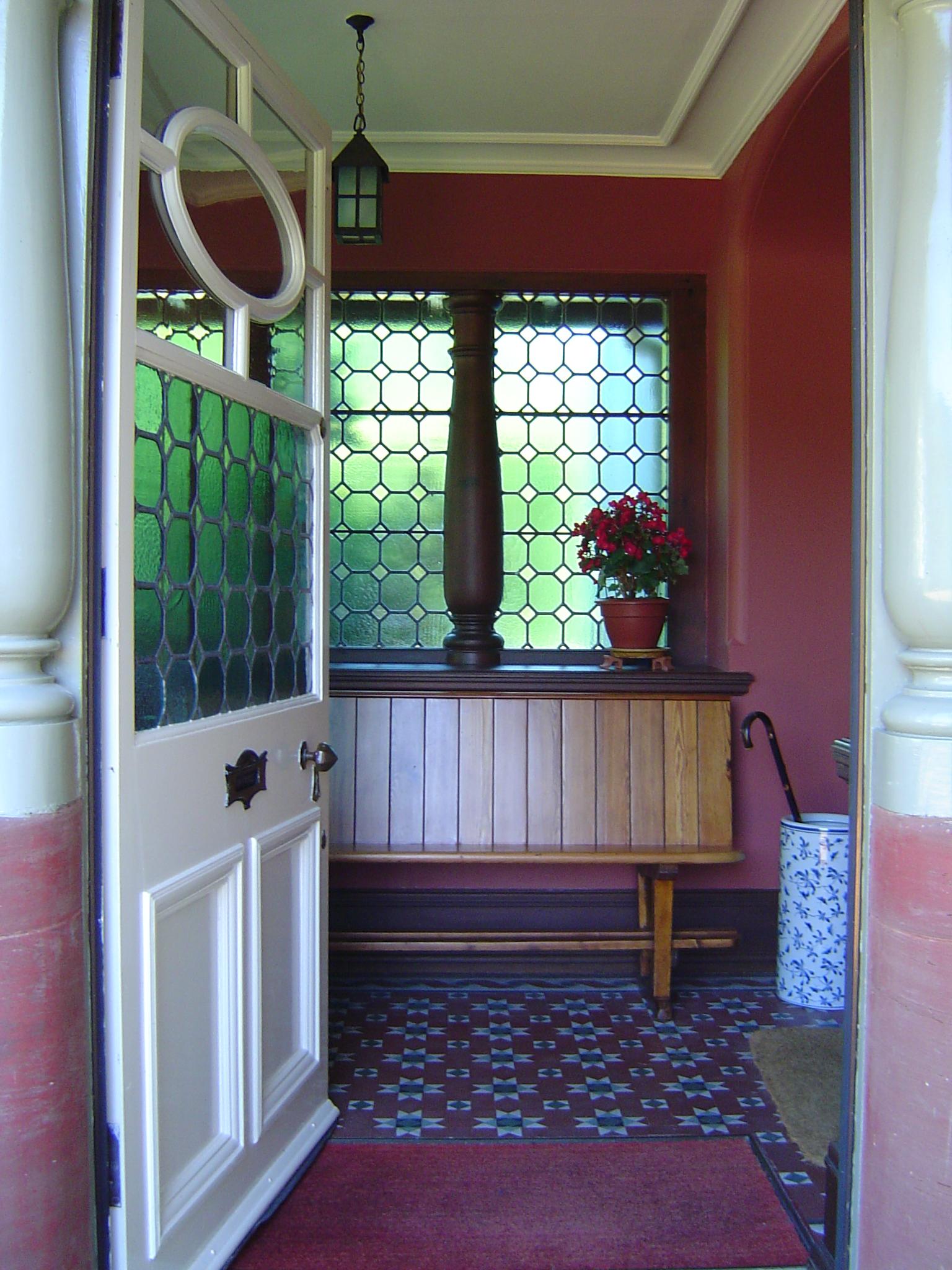 Dunvarlich House Porch