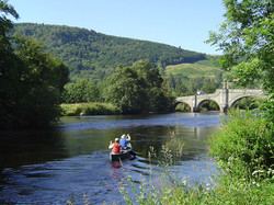 The river Tay in front of Dunvarlich