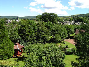 Dunvarlich House, Self catering accommodation, Aberfeldy, Highland Perthshire, Scotland.