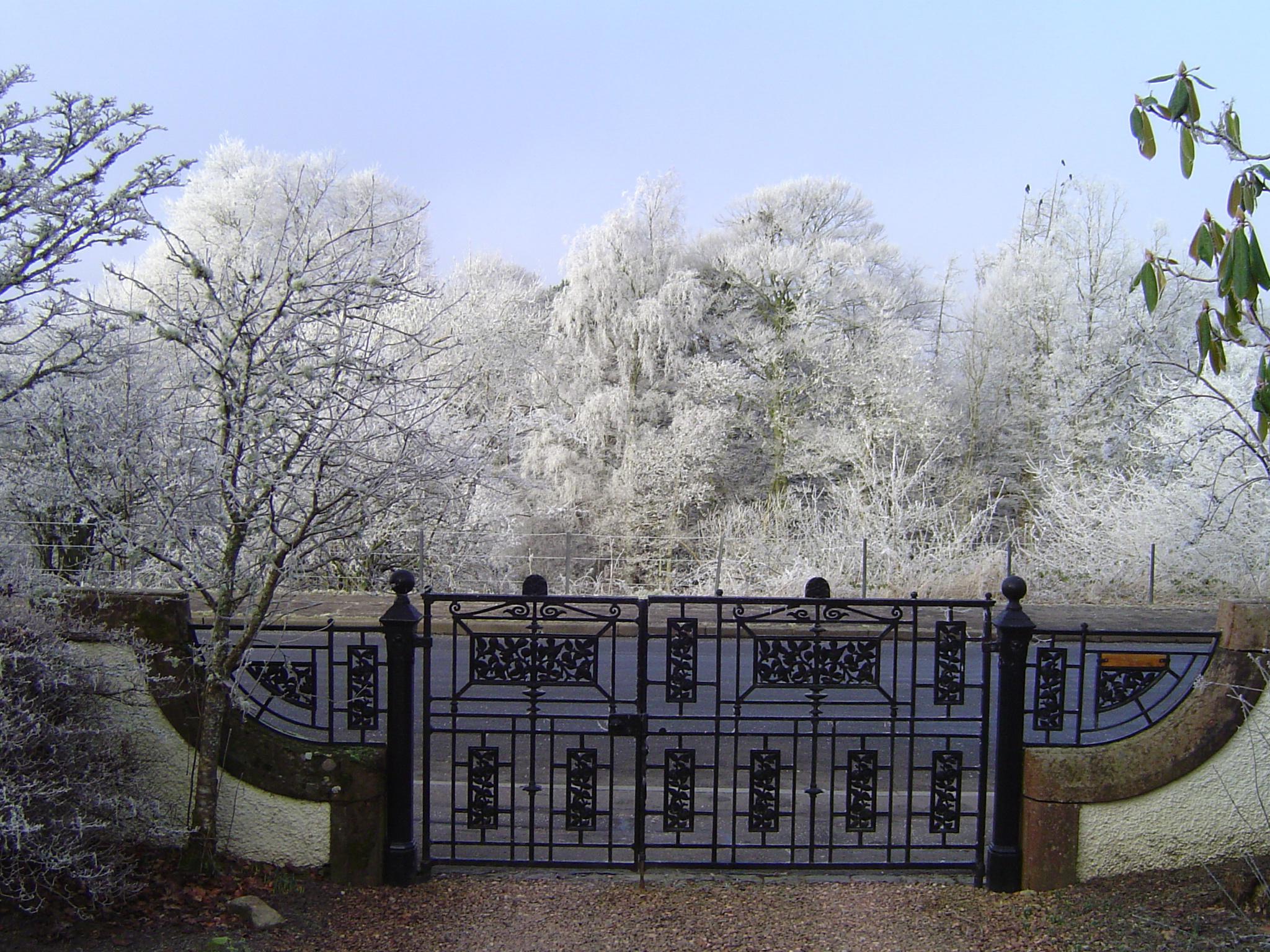 Dunvarlich House Gates