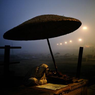 Priest in Varanasi