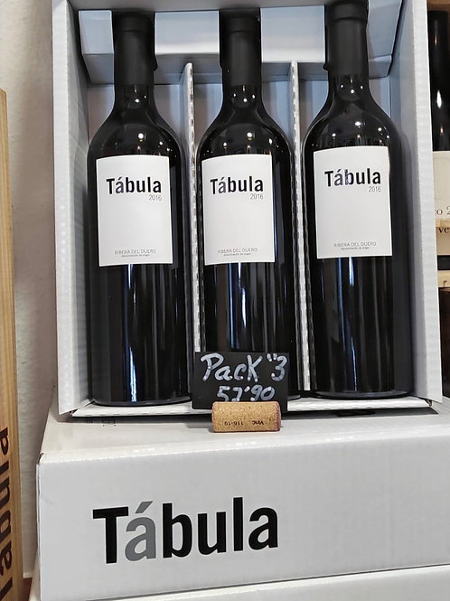 "PACK ""3 BOTELLAS TABULA"""