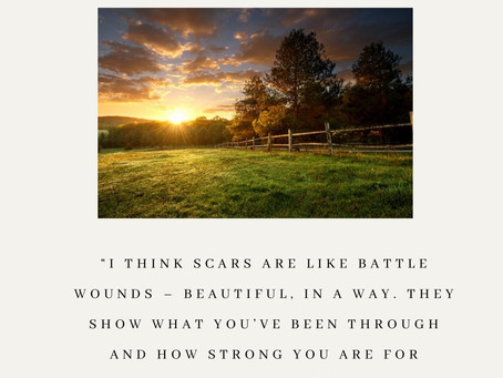 Scars are Just Stories...