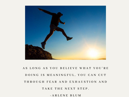 Just take the next step..