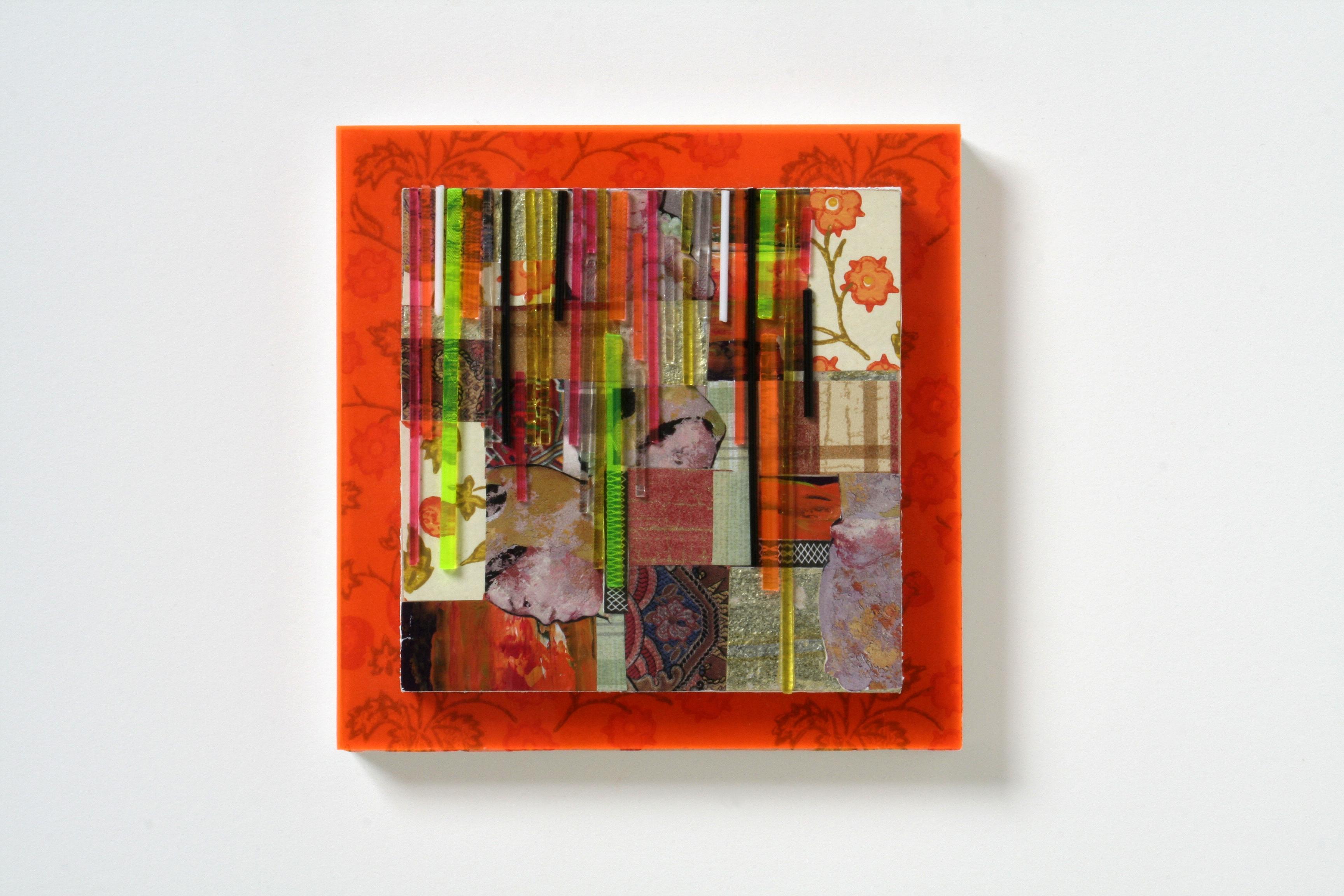 Psycadelic quilt -- pink
