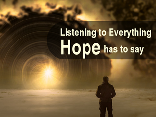 What Does It Mean To Be A People of Hope