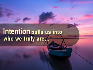 What Does It Mean To Be A People of Intention?