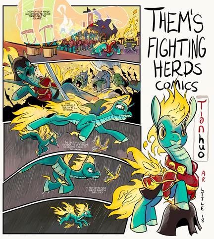 Tianhou Request Comic