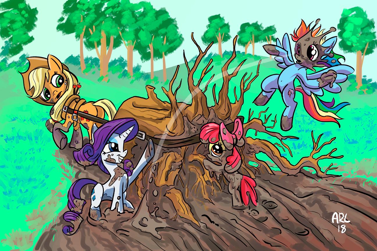 Filthy Mud Ponies
