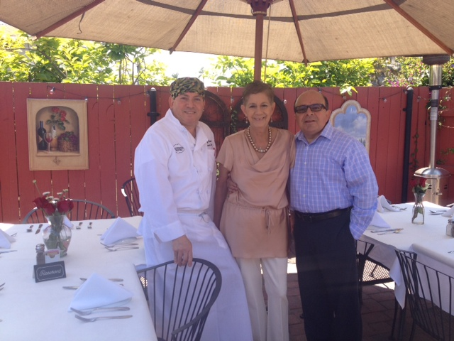 Chef Giovanni, Anna, Franco