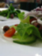 Wedding Greek Salad Plate