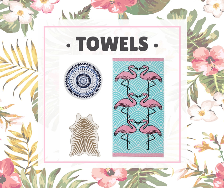 • Towels •