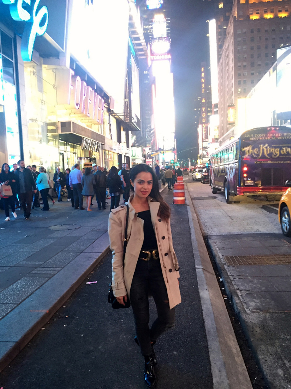 time square ootd new york nyc