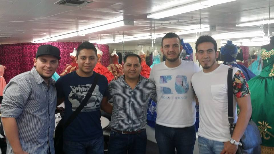 Calibre 50 y Diego Medel