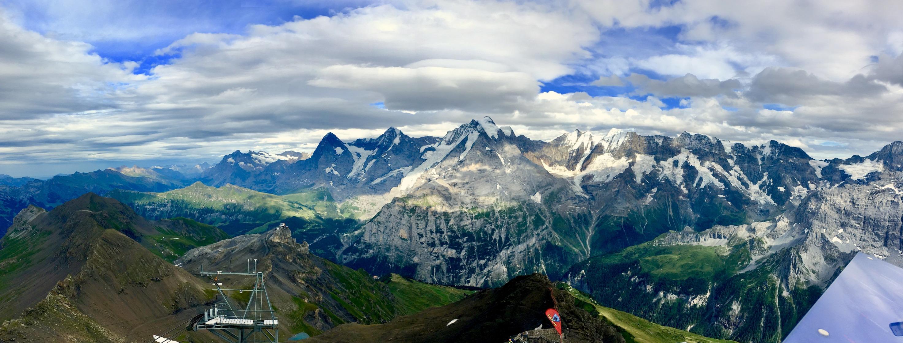 Eiger, Jungfrau, Mönch