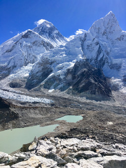 Mount Everest & Nuptse