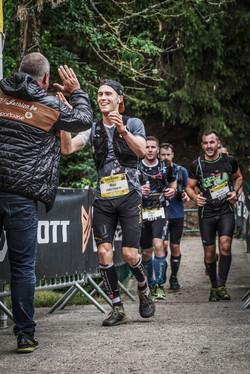 Finish La Chouffe trail