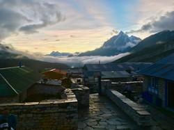 Sunset Nepal