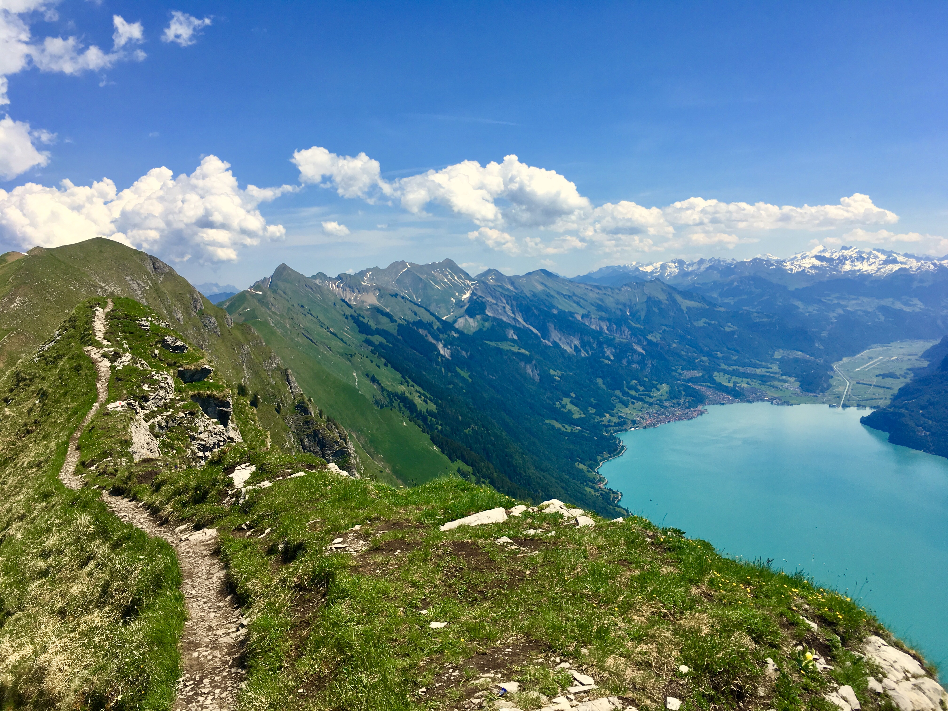 Brienzersee on Hardergrat ridge