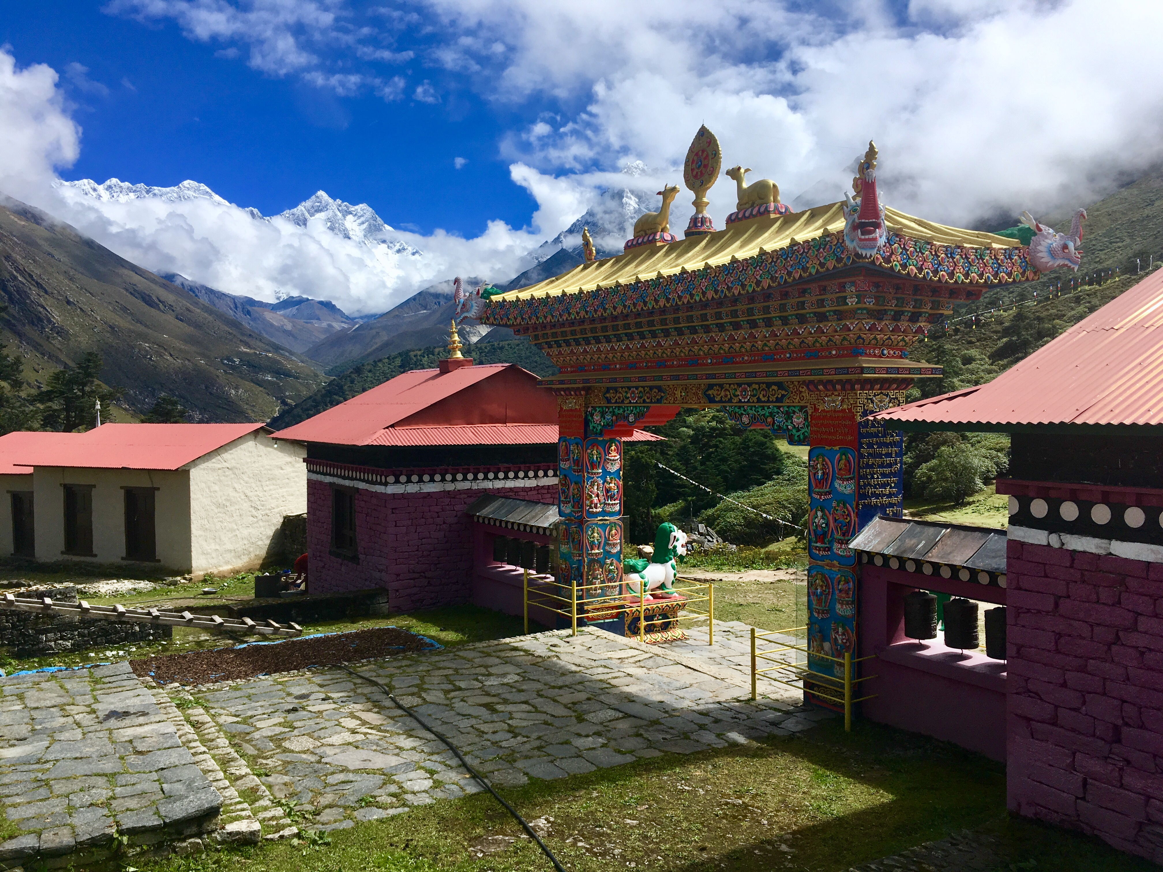 Monastery in Nepal